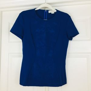 Stella McCartney top short sleeve brocade print